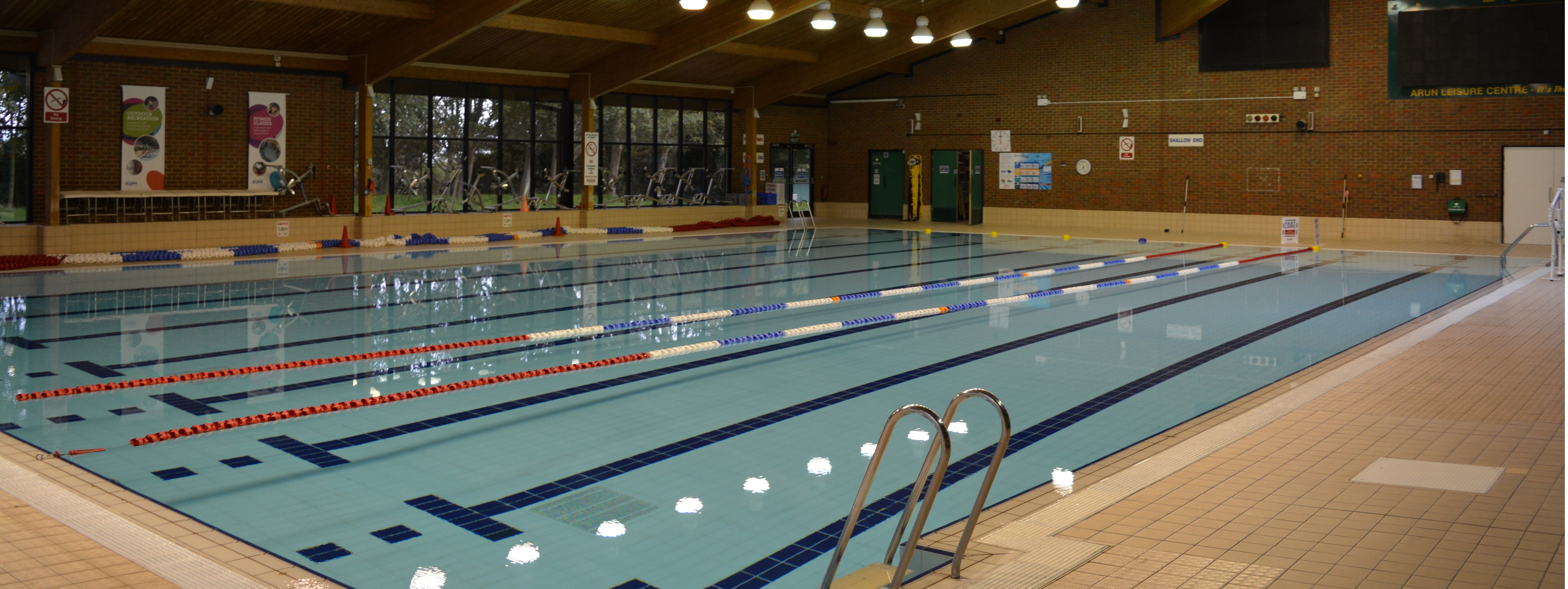 Empty Pool at Arun Leisure Centre
