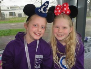 Littlehampton-swimming-club-swimmers-with-disney-ears-at-sussex-county-champs-2017