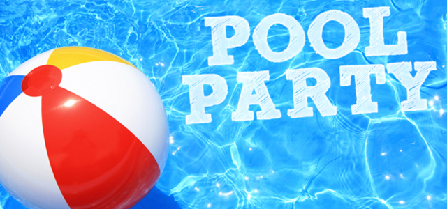 Pool Party Image with Ball