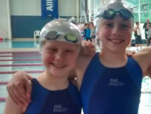 swimmers at the South East Primary Schools Swimming Competition