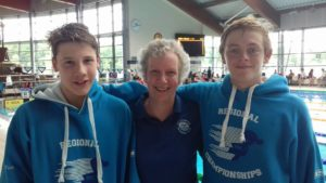 LSC swimmers at the final weekend of the Southeast regional championships 2017